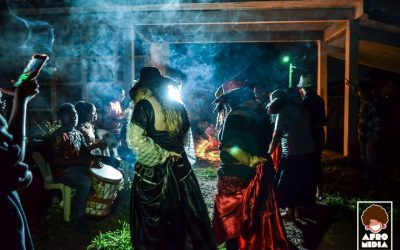 Homenagem Ogum Megê na Calunga